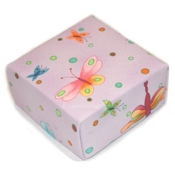 Representative Image of Lavender Chiffon Butterfly Treasure Box (FBX-AA018))