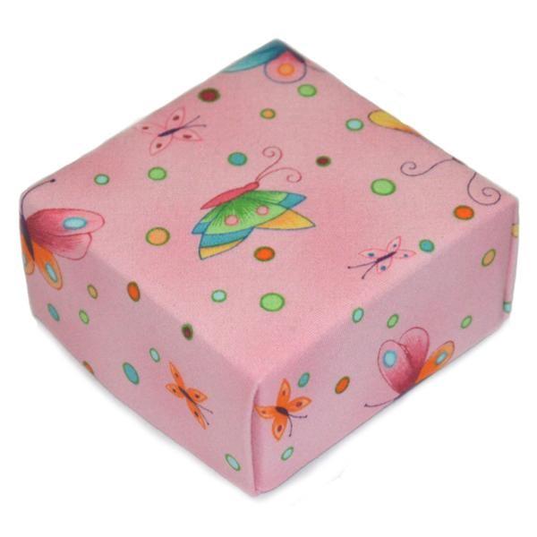 Representative Image of Pink Parfait Butterfly Treasure Box (FBX-AA019))